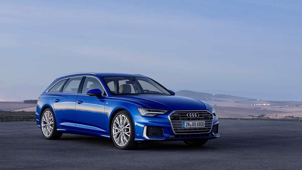 Универсал Audi A6 Avant нового поколения
