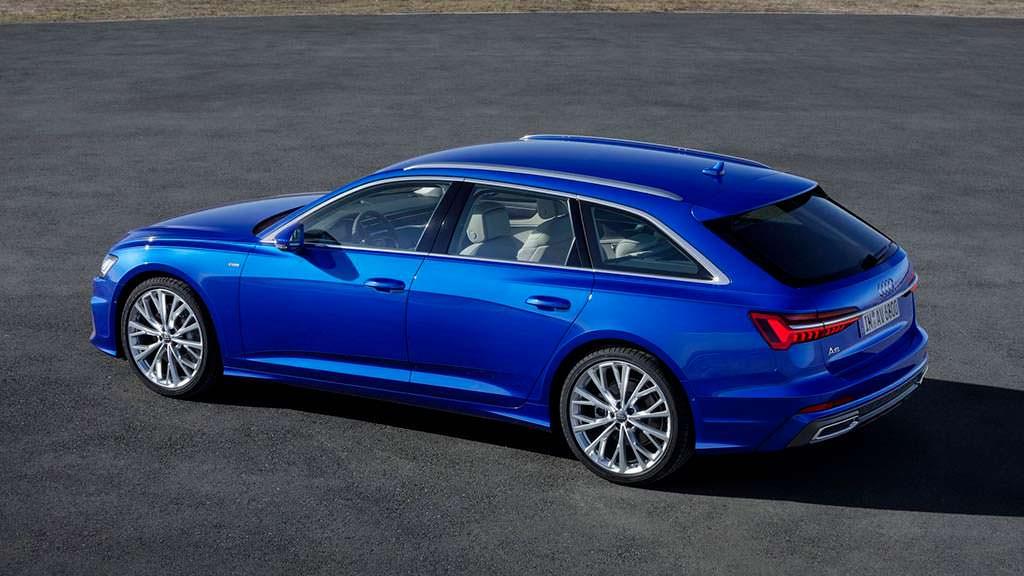 Audi A6 Avant нового поколения