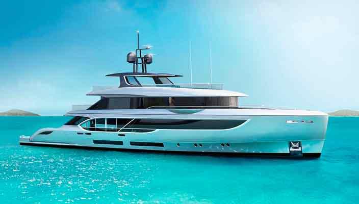 Benetti и RWD показали концепт яхты Oasis 135   фото