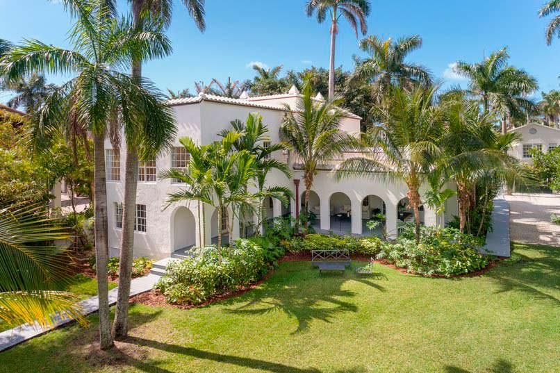 Загородная вилла Аль Капоне в Майами-Бич
