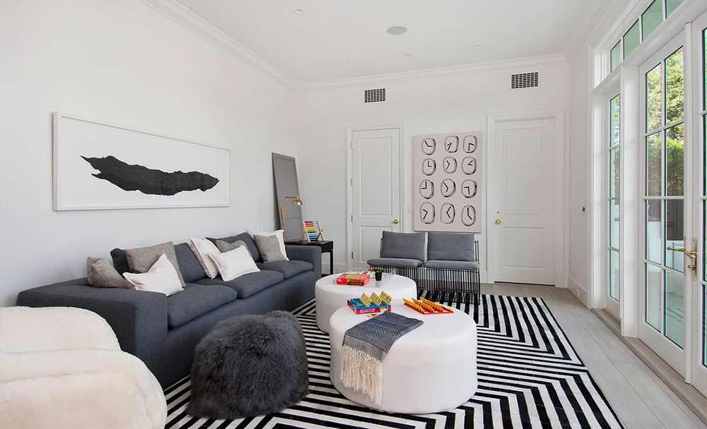Дизайн комнаты в светлых тонах