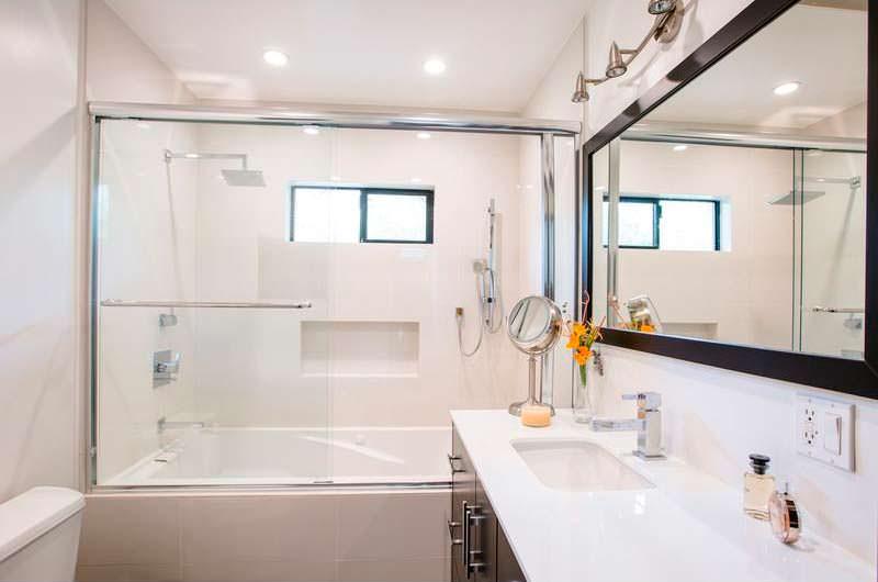 Дизайн ванной комнаты в доме Изабеллы Скорупко