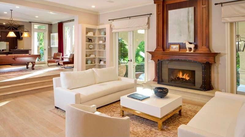 Дизайн интерьера дома Марка Уолберга