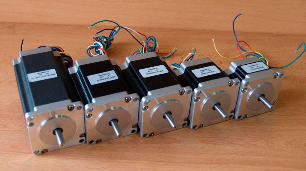Шаговые электродвигатели
