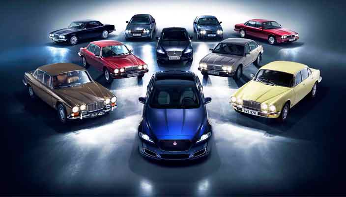 Седан Jaguar XJ празднует 50-летний юбилей спецверсией   фото