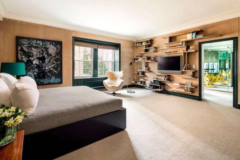 Квартира с 4 спальнями в Нью-Йорке