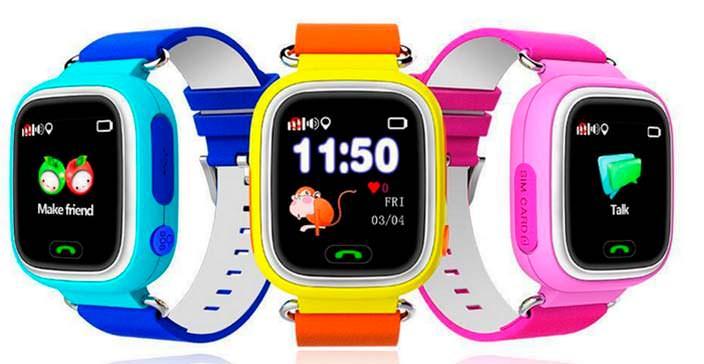 Детские умные часы Smart Baby Watch