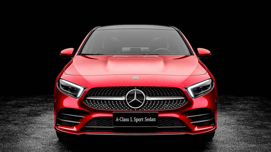 Китайский седан Mercedes-Benz A-Class L Sport Sedan