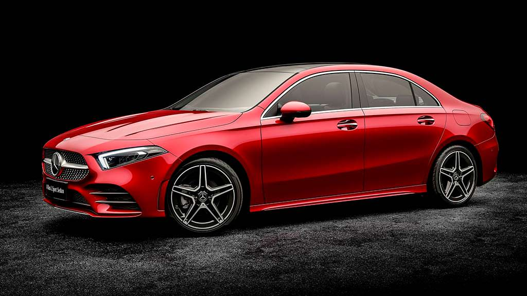 Mercedes-Benz A-Class L Sport Sedan для Китая