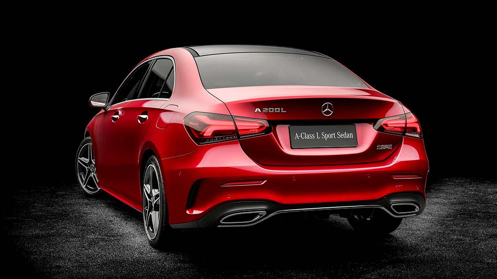 2018 Mercedes-Benz A-Class L Sport Sedan