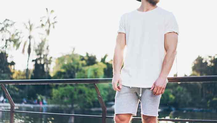 Модные модели мужских шорт 2018