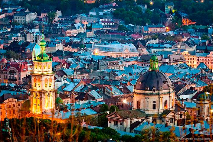 Панорама Львова