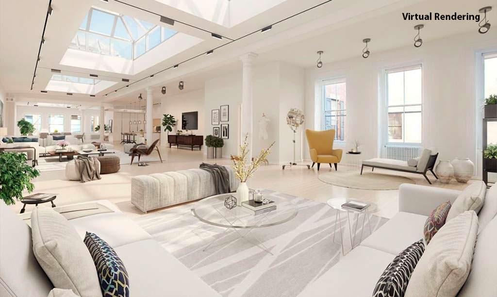 Новая квартира супермодели Хайди Клум в Нью-Йорке