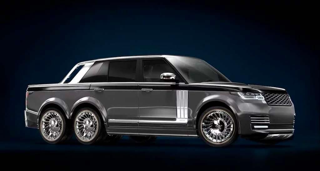 Шестиколесный пикап Range Rover T.Fotiadis Design