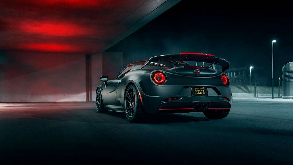 Экстрим-тюнинг Alfa Romeo 4C от Pogea Racing
