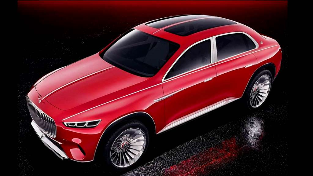 Внедорожник Vision Mercedes-Maybach Ultimate Luxury