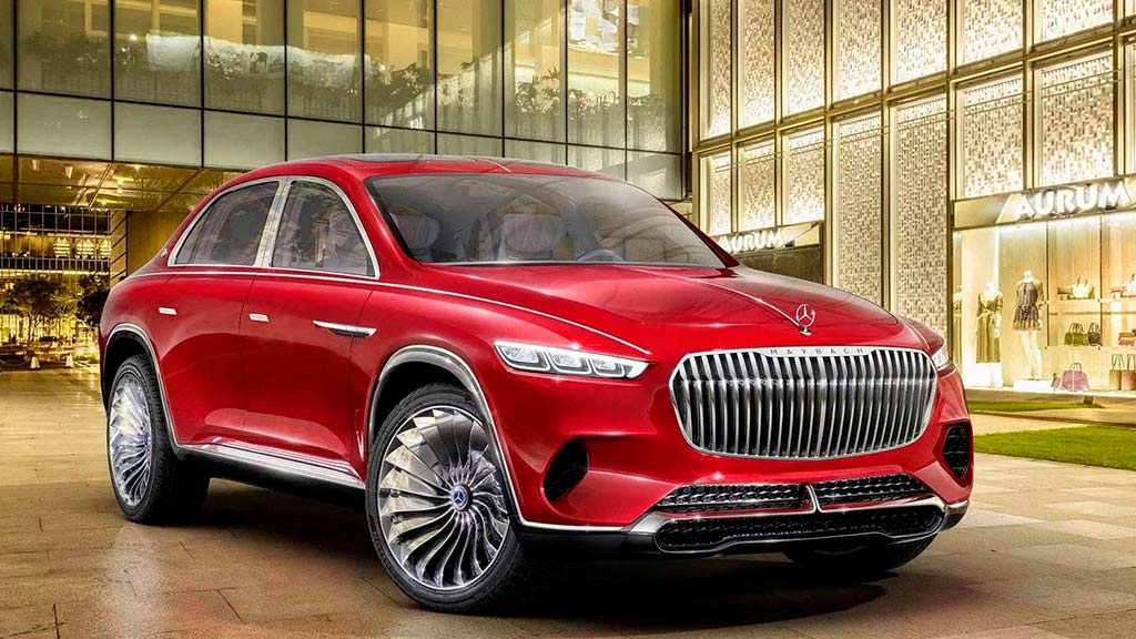 Шикарный внедорожник Vision Mercedes-Maybach Ultimate Luxury