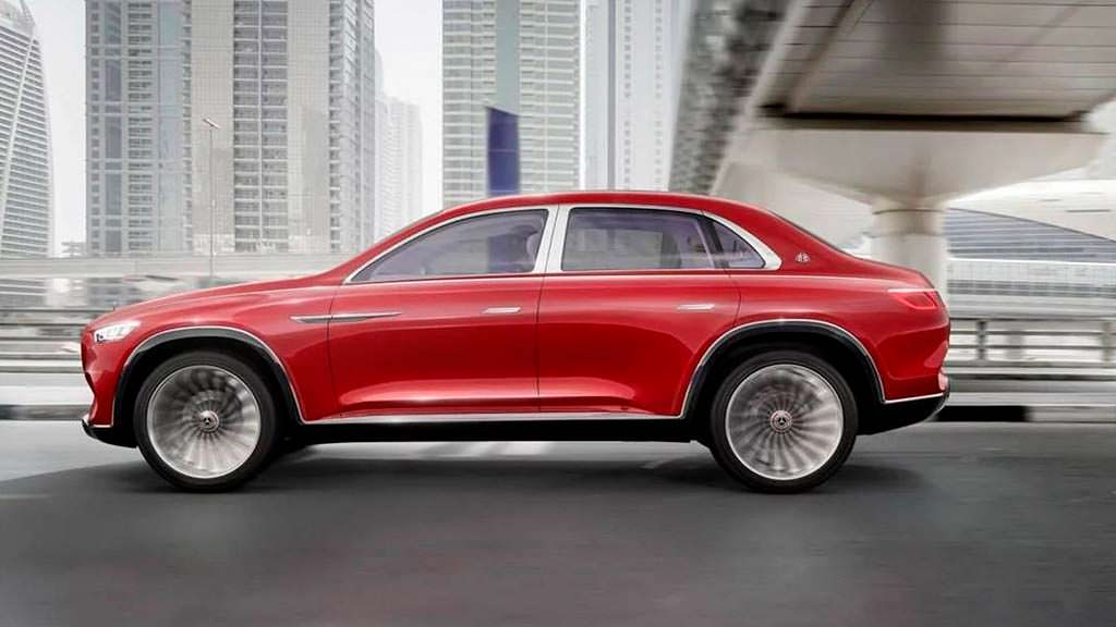Элитный внедорожник Vision Mercedes-Maybach Ultimate Luxury