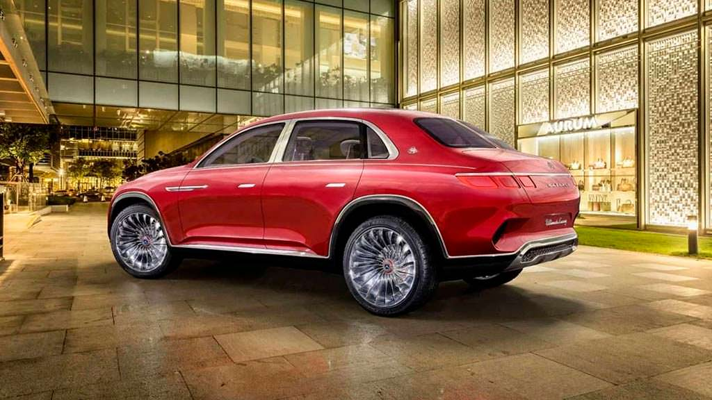 Новый Vision Mercedes-Maybach Ultimate Luxury