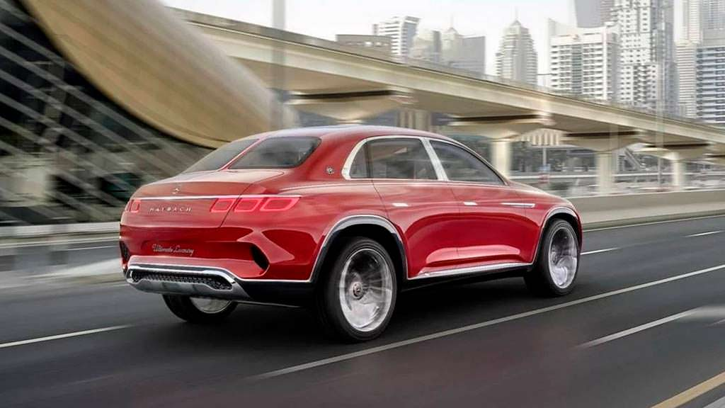 Ретро-внедорожник Vision Mercedes-Maybach Ultimate Luxury