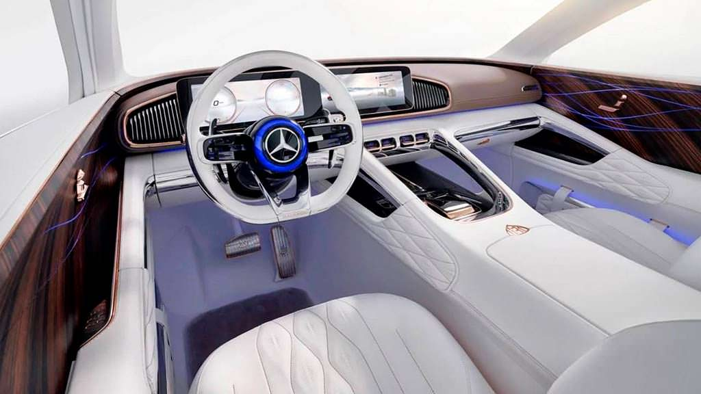 Фото салона Vision Mercedes-Maybach Ultimate Luxury