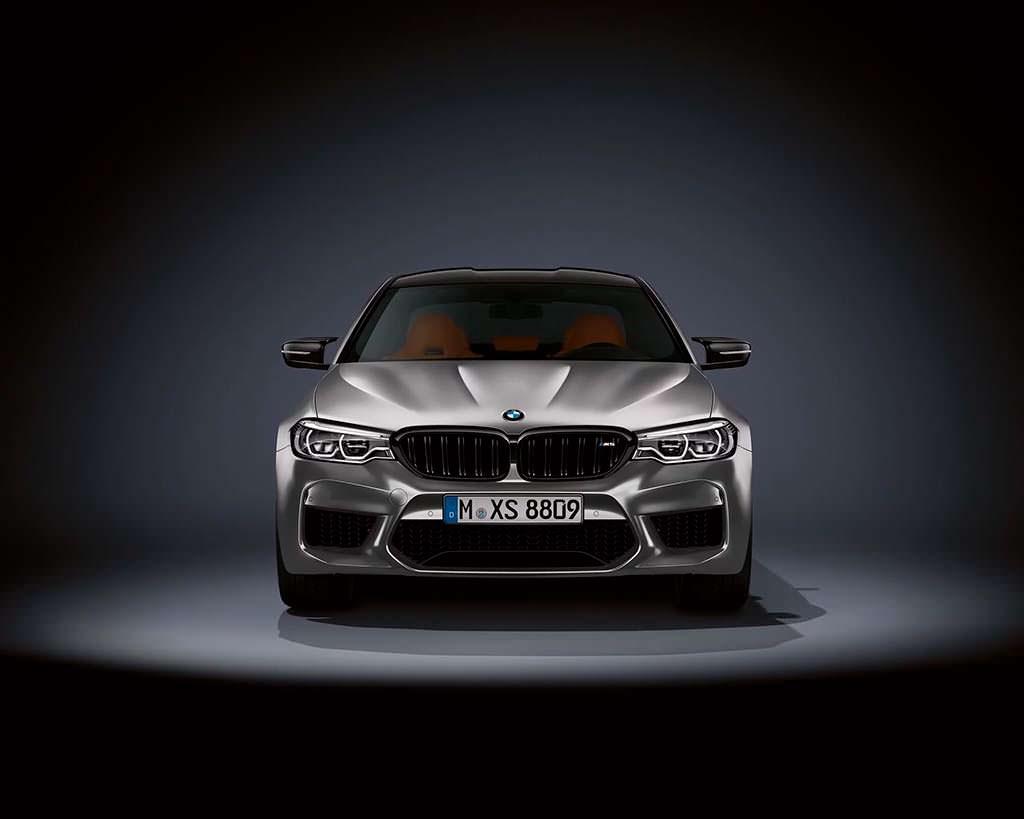 Спортивный седан BMW M5 Competition 2019