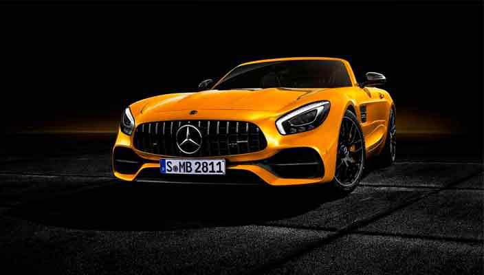 Новый Mercedes-AMG GT S Roadster вышел официально   фото