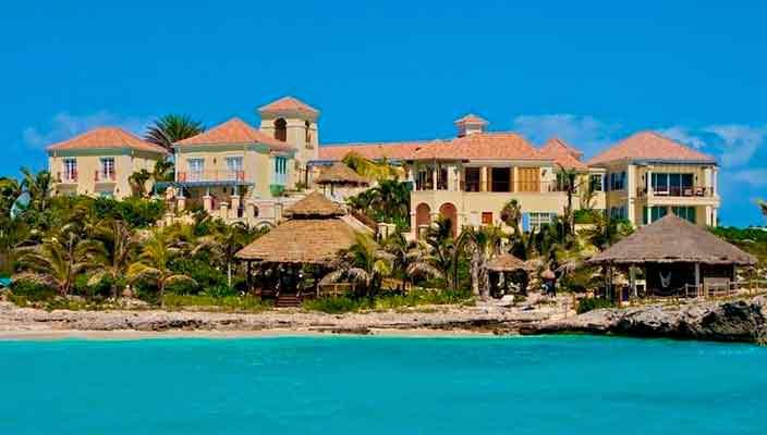 Островная вилла Принса уйдет с молотка   цена и фото