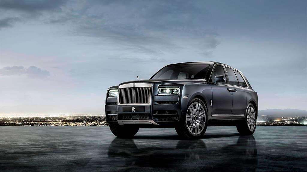 Новый Rolls-Royce Cullinan