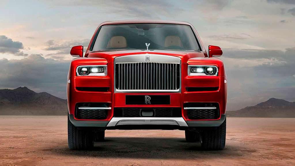 Шикарный внедорожник Rolls-Royce Cullinan