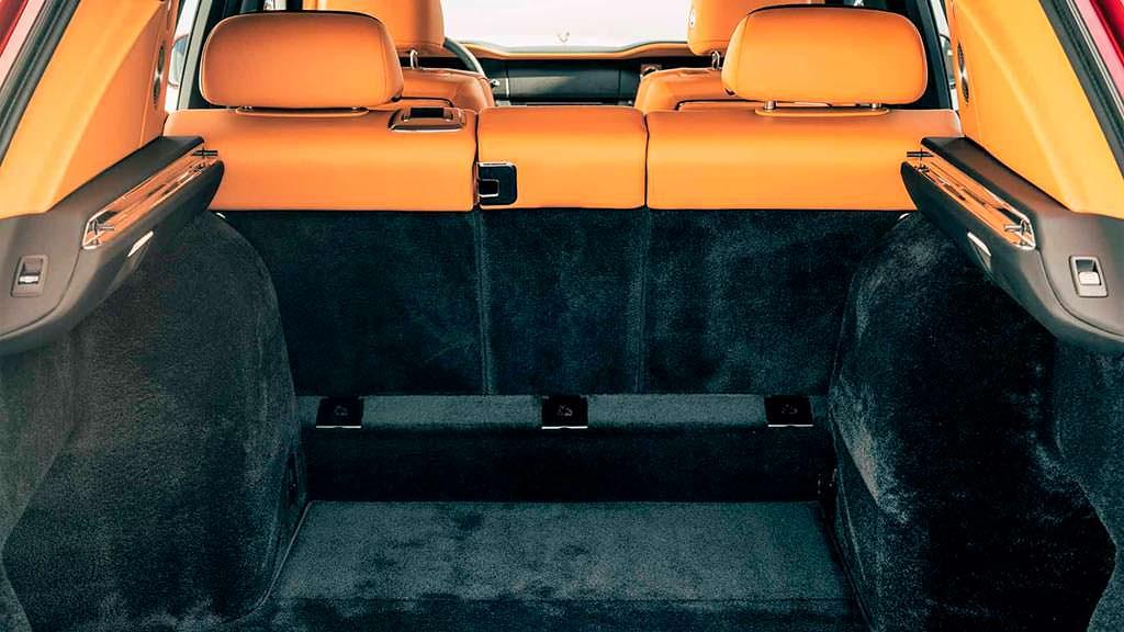 Багажник Rolls-Royce Cullinan