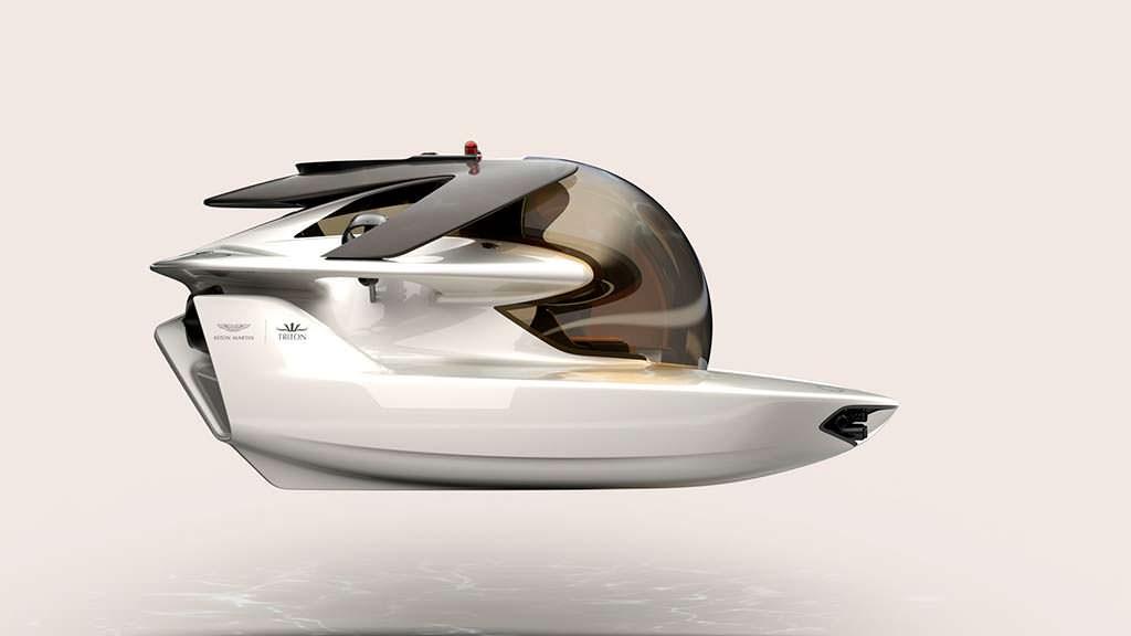 Частная субмарина Aston Martin Project Neptune