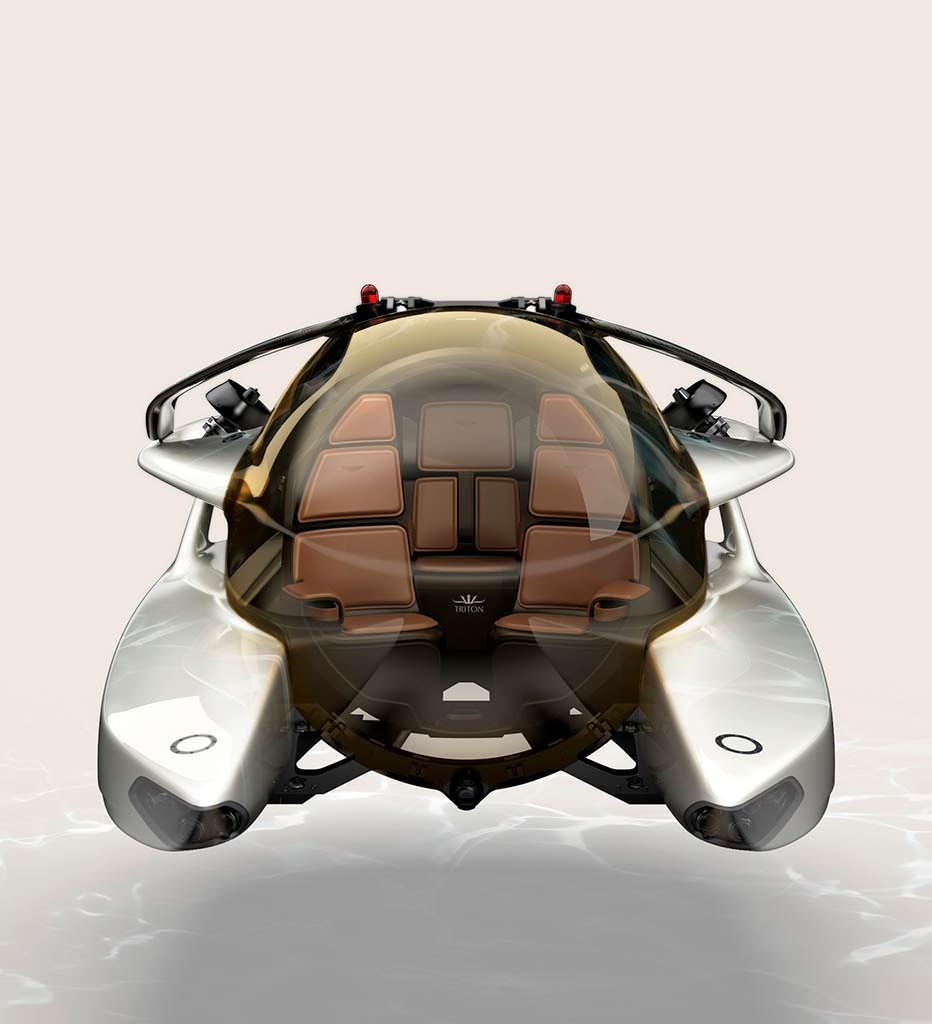 Мини-субмарина Aston Martin Project Neptune