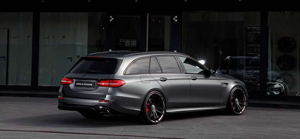 Тюнингованный Mercedes-AMG E63 S Estate от Wheelsandmore
