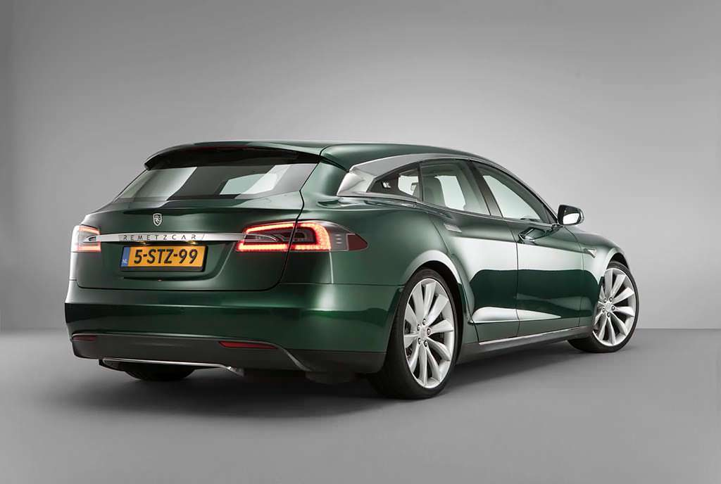 Tesla Model S Shooting Brake. Проект RemetzCar