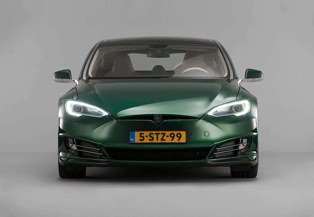 Tesla Model S Shooting Brake от RemetzCar