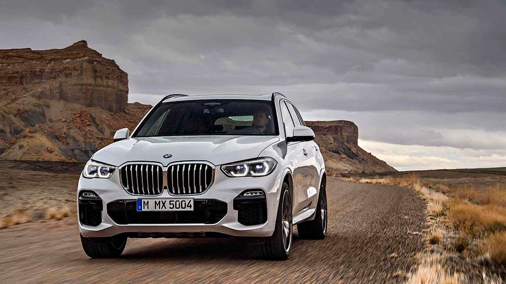 BMW X5 четвертого поколения