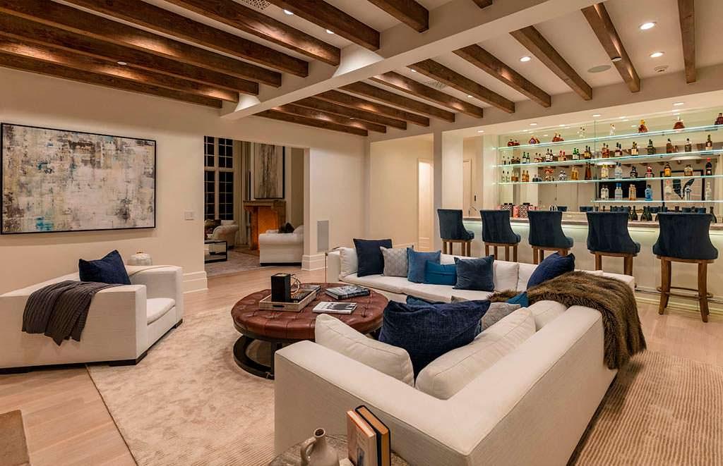 Фото дома Мадонны внутри