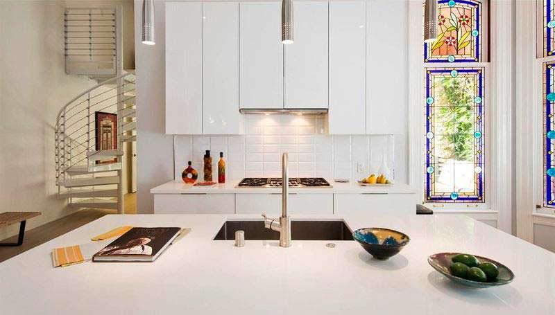 Новая кухня в 118-летнем доме