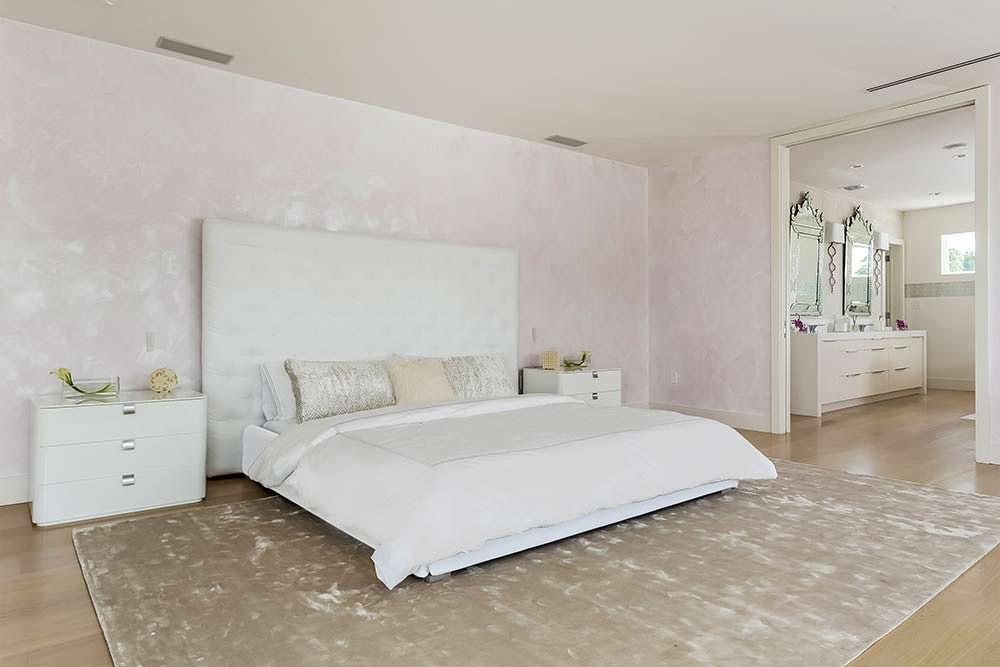 Спальня в доме Шакиры в Майами