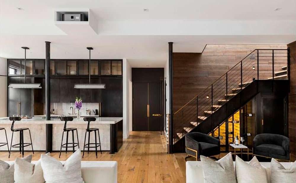 Квартира в Нью-Йорке Джона Ледженда и Крисси Тейген