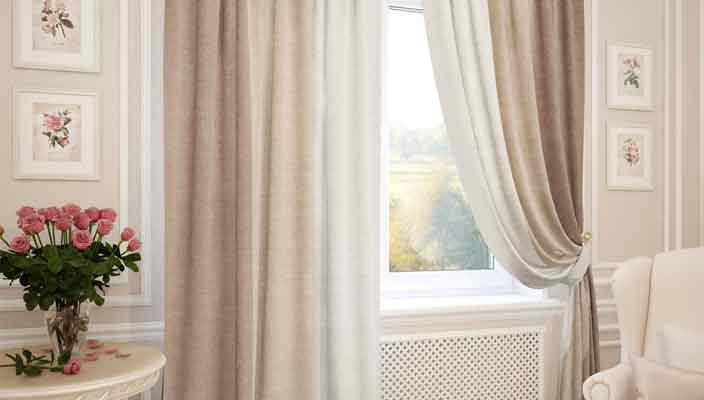 Самая популярная ткань для штор