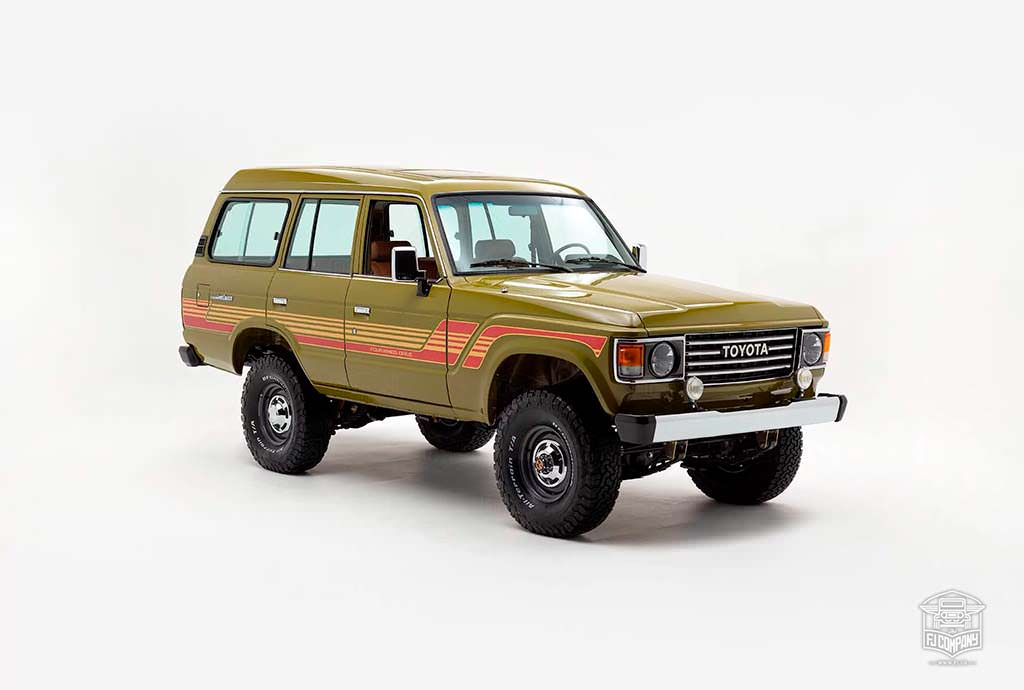 Рестомод Toyota Land Cruiser 1986 года