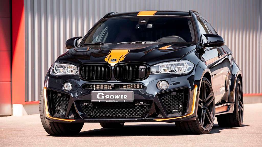 BMW X6 M Typhoon. Тюнинг от G-Power