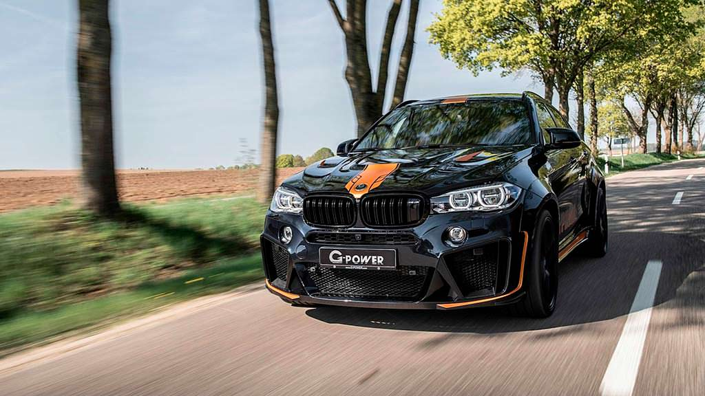 Тюнинг BMW X6 M Typhoon от G-Power. Скорость 299 км/ч