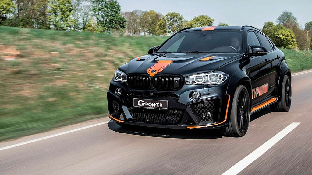Тюнинг BMW X6 M Typhoon от G-Power. Мощность 750 л.с.