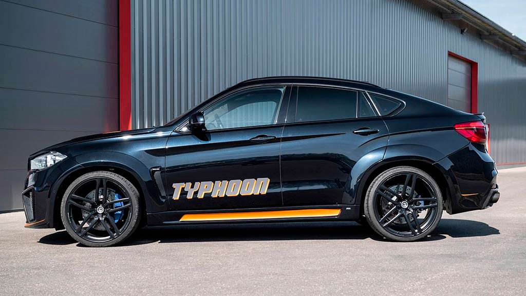 Тюнинг BMW X6 M Typhoon от G-Power