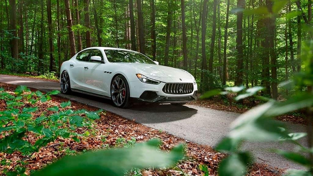 Спортивный седан Maserati Ghibli S от Novitec