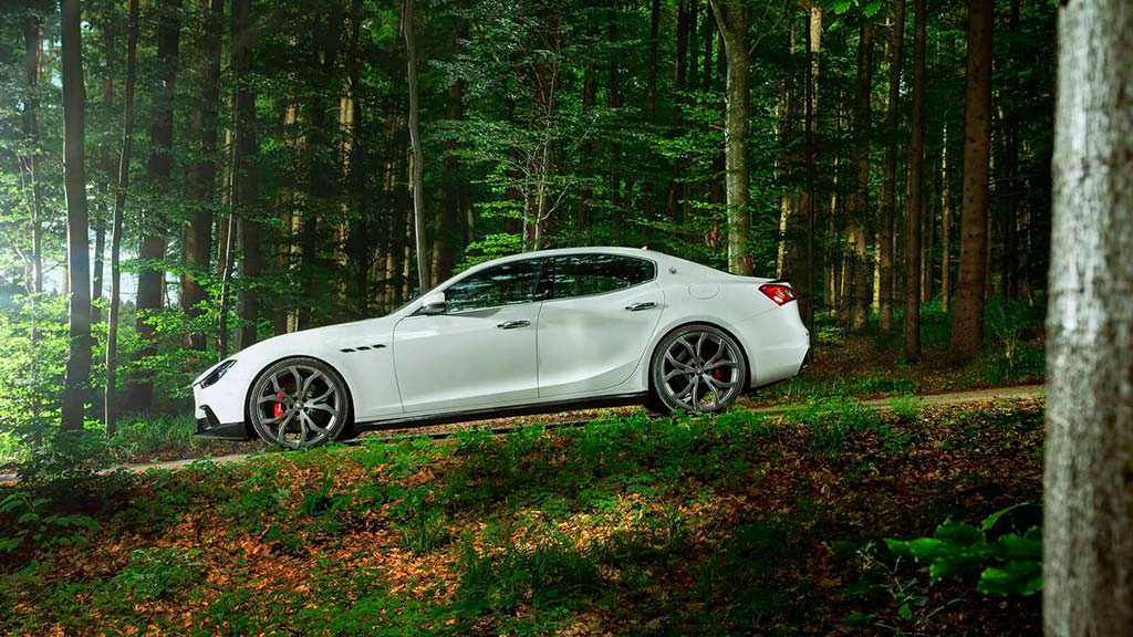 Тюнинг Maserati Ghibli S от Novitec