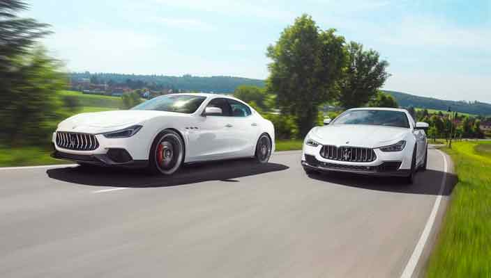 В Novitec сделали мощный тюнинг Maserati Ghibli S   фото
